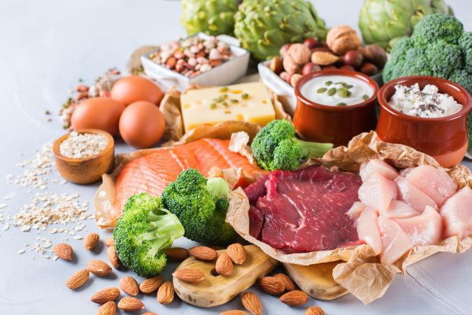 Ēdieni ar daudz B grupas vitamīniem